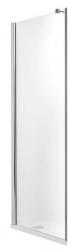 Roltechnik Pevná boční stěna TCB/1000, sklo čiré, rám stříbro