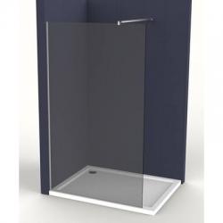 Pevná stěna Siko Walk-in Walk-in 100 cm, kouřové sklo