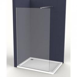 Pevná stěna Siko Walk-in Walk-in 80 cm, čiré sklo