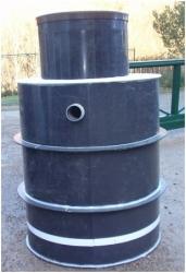 Ekocis Plastová nádrž NK3-EK - samonosná