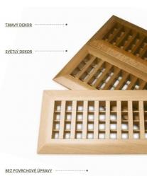 Atrea Podlahová mřížka dřevěná PMD 250x97 mm