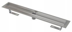 Alcaplast Podlahový žlab APZ2001-300 s okrajem pro perforovaný rošt, bez zápachové uzávěry, délka 300 mm