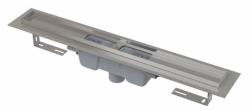 Alcaplast Podlahový žlab APZ1001-1150 s okrajem pro perforovaný rošt, svislý odtok, délka 1150 mm