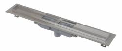 Alcaplast Podlahový žlab APZ1101-650 Low s okrajem pro perforovaný rošt, svislý odtok, délka 650 mm