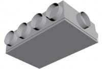 Atrea Podstropní rozdělovací komora izolovaná - dlouhá RKPI-D
