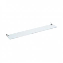 JIKA Polička skleněná Basic, 57 cm, chrom H3853A20040001