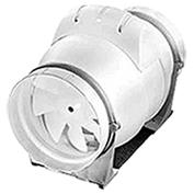 Potrubní diagonální plastový ventilátor AXM, 230V