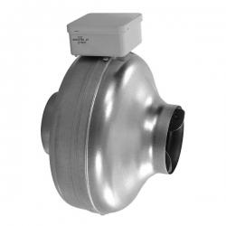 Elicent Potrubní radiální kovový ventilátor CK pro delší kruhové rozvody, 230V