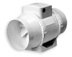 Potrubní ventilátor CF pro delší kruhové rozvody
