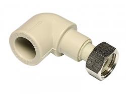 EkoPlastik PPR Koleno 90° přechodka plastová s převlečnou maticí