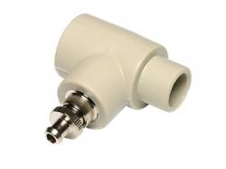 EkoPlastik PPR Nátrubek s výpustným ventilkem vnitřní/vnější