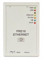 Elektrobock Převodník RS232 na Ethernet PRE10