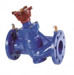 Ivar CS Přírubový uzavírací a vyvažovací ventil - BRA.EKOFLUX S