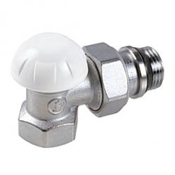 Giacomini R14TG Regulační a uzavíratelné radiátorové šroubení, rohové