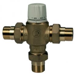 Giacomini R156-2 Směšovací termostatický ventil pro rozvody sanity s havarijní funkcí při výpadku dodávky studené vody