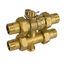 GIACOMINI R278 Třícestný zónový ventil s regulací obtoku, pro motory K270, K272