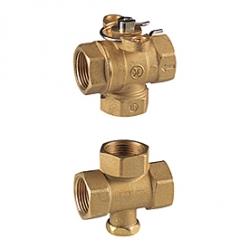 Giacomini R279 Třícestný zónový ventil s regulací obtoku, pro motory K270, K272