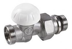 Giacomini R31TG Radiátorové šroubení regulační, přímé, pro adaptér, gumové těsnění