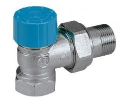 GIACOMINI R401H Termostatický ventil rohový pro termostatické hlavy