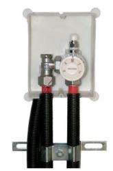 Giacomini R414 Sada pro připojení jednoho okruhu podlahové vytápění (do 35m trubky) na vysokoteplotní spád 18 x 18