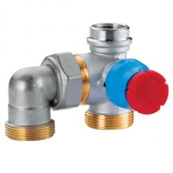Giacomini R414M Termostatický ventil pro skříňku R508M (podlahové vytápění)