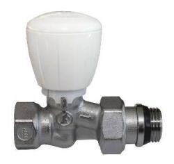 Giacomini R422TG Termostatický ventil přímý s ruční hlavou, chrom