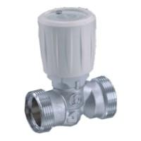 Giacomini R432A Termostatický ventil přímý 18x18, 2x adaptérové připojení, bez adaptérů
