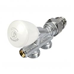 Giacomini R437N Termostatický ventil, čtyřcestný, ruční hlava, s injektorem, bez adaptérů