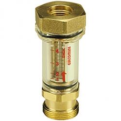 Giacomini R532 Průtokoměr D 18 k rozdělovačům, max. průtok 4 l/min