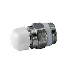 Giacomini R66A Odvzdušňovací ventil s ručním kolečkem, chrom, těsnění