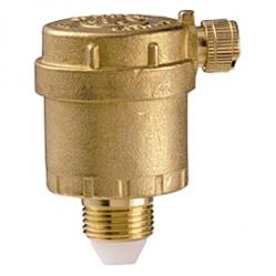 Giacomini R88 Automatický odvzdušňovací ventil, svislý, mosaz
