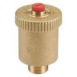 Giacomini R99 Automatický odvzdušňovací ventil, svislý, mosaz