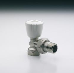 Radiátorový ventil IVAR.VD 002 s přednastavením VS - rohové provedení