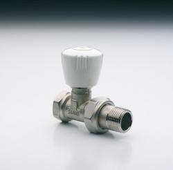 Radiátorový ventil VD - přímé provedení IVAR.VD 201, na ocelové potrubí