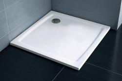 Ravak PERSEUS PRO FLAT sprchová vanička z litého mramoru 90 x 90 cm