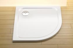 RAVAK Sprchová vanička Elipso Pro Chrome 80x80x3 cm, R500
