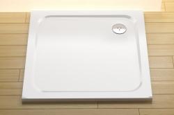 RAVAK Sprchová vanička Perseus Pro Chrome 100x100x3 cm