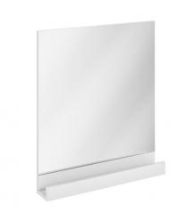 Zrcadlo s poličkou RAVAK 10°, 650 x 110 x 750 mm