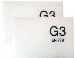 Regulus Filtr G3 do rekuperační jednotky Sentinel Kinetic Horizontal - sada 2 ks