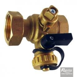 Regulus Kulový kohout s vypouštěcím ventilem (Fu/F)