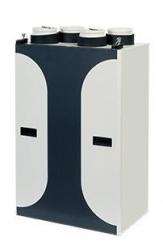 2VV Rekuperační jednotka DAPHNE Basic 150 bez ovládacího panelu, s předehřevem, bez dohřívače, 150m³/h
