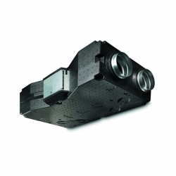 2VV Podstropní rekuperační jednotka VENUS Comfort 150, EC motory, předehřev (HRV-15EC-E-74-R)