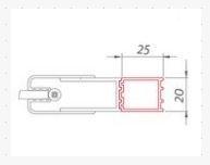 Roltechnik Nastavovací profil pro LEGA LIFT LINE - LZR2, LZDO1, LZCO1, LZCN2, LLB