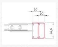 Roltechnik Nastavovací profil pro SANIPRO LINE: LD3, LSB