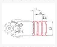 Roltechnik Nastavovací profil pro TOWER LINE - TR1, TZNL(P)1, TZOL(P)1, TCXX