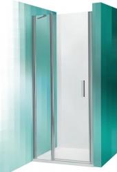 Roltechnik Sprchové dveře TDN1/800, jednokřídlé, 77-81x201 cm, profil stříbrný, sklo Transparent