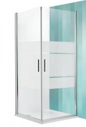 Roltechnik Sprchový kout TCO1/1000, 97,5-99,5x201 cm, sklo intima, rám stříbro