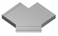 Atrea PKR Rozbočka symetrická 160 x 40 2 x 45° pro podlahový kanál R120443