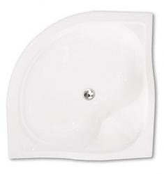 PROJECT Akrylátová sprchová vanička SEMIDEEP NEO/800, 80 x 80 x 29 cm, R550
