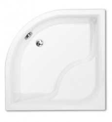 PROJECT Hluboká sprchová vanička VIKI LUX/800, 80x80x48 cm, R550
